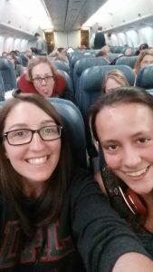 Selfie with Meleigha, Jessica, Sarah and Ashley