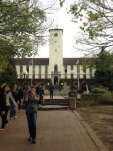 Our visit to Rhodes University to do some shopping.