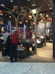Harry Potter store in Heathrow.