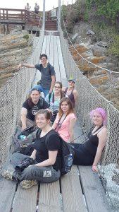 Suspension bridge group