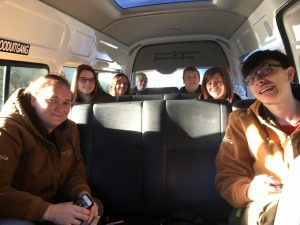 Group in Bus