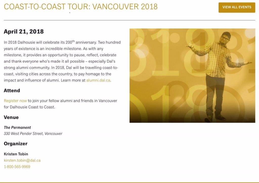 Vancouver April 21, 2018