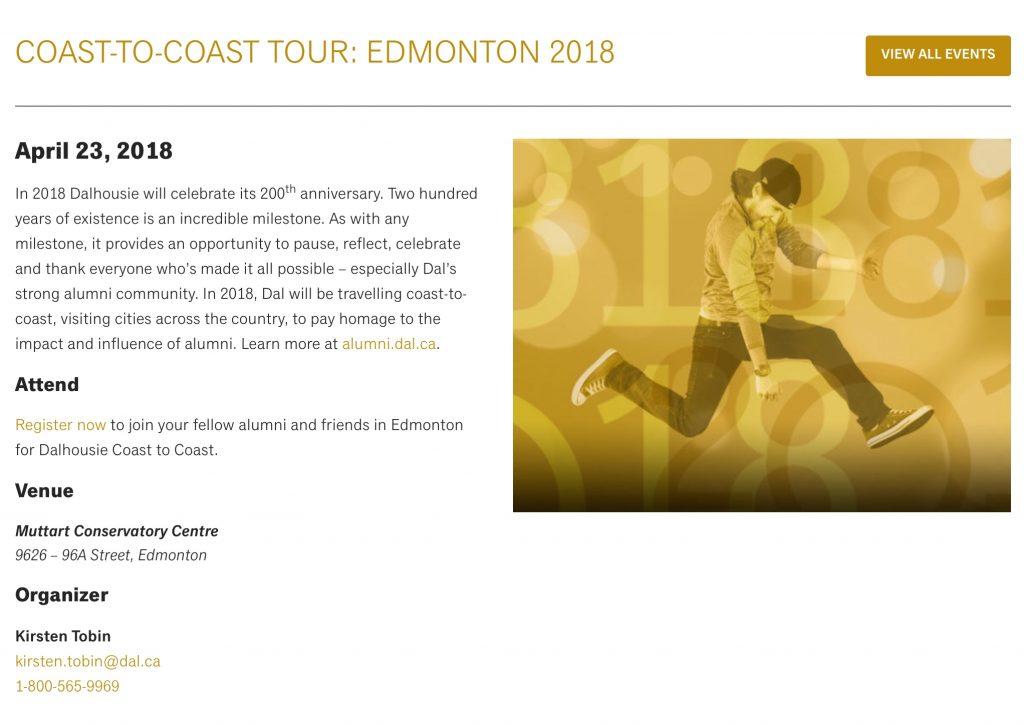 Edmonton April 23, 2018