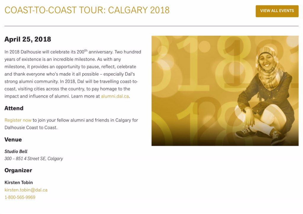 Calgary April 25, 2018