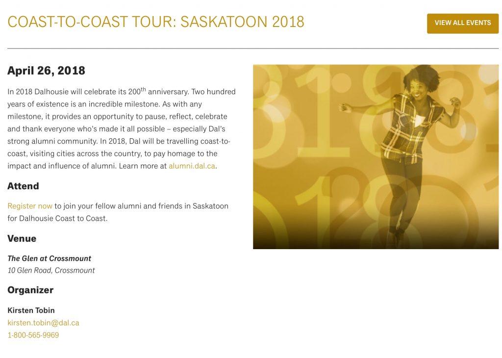 Saskatoon April 26, 2018