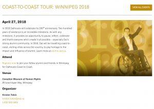 Winnipeg April 27, 2018