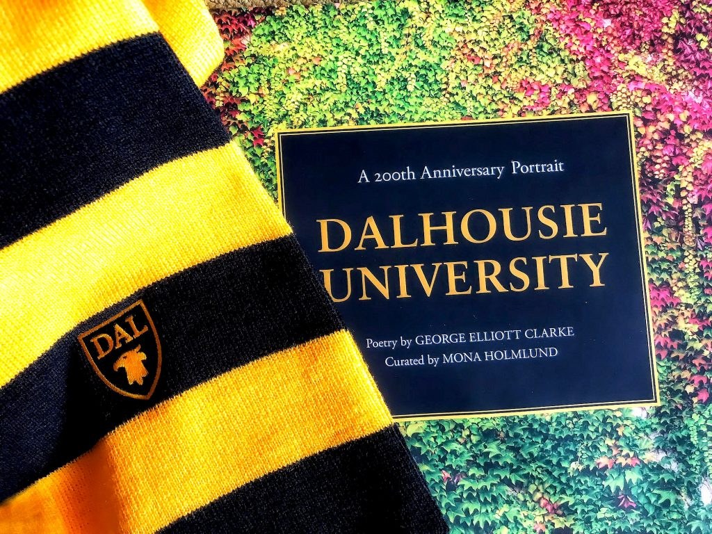 """No one person has seen all of Dalhousie: all its iterations, all the personalities that helped to form it and have, in turn, been formed by it. This book is a witness to the University's two hundred years. It is a cloud chamber, a place where transformation in time and space has been frozen, offering glimpses into multiply memories."" Mona Holmlund, A 200th Anniversary Portrait Dalhousie University"