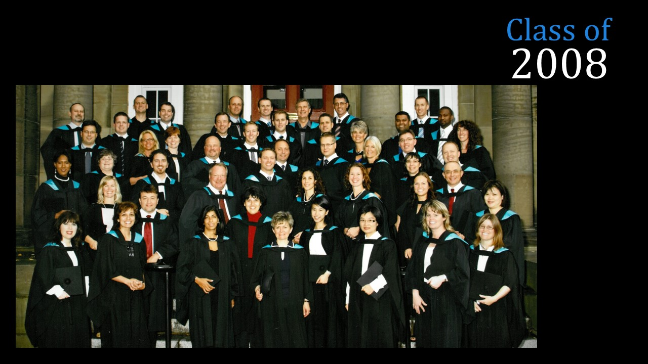 Class of 2008 MBA(FS)
