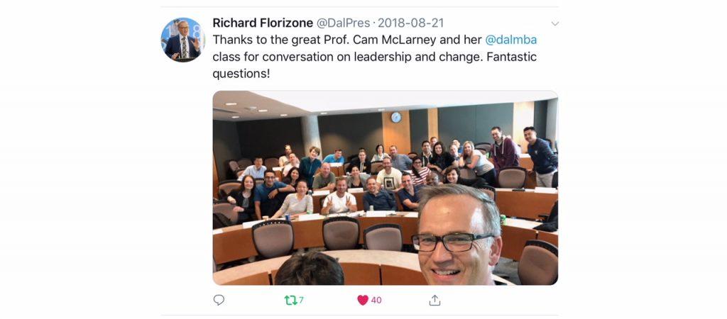 Dr. Richard Florizone & Dr. Carolan McLarney