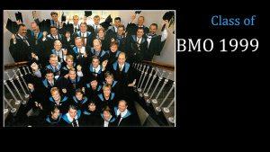 Class of 1999 MBA (FS) BMO