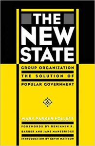 The New State by Mary Parker Follett