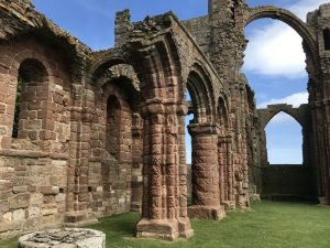 The Holy Island of Lindisfarne, Northumberland
