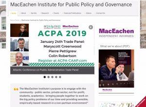 The MacEachen Institute for Public Policy