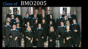 Class of 2005 MBA (FS) BMO