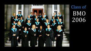 Class of 2006 MBA (FS) BMO