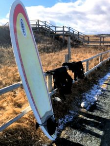 Surfing The Point at Lawrencetown, Photo Credit, Stephen Boyd