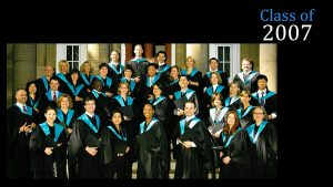 Class of 2007 MBA (FS)