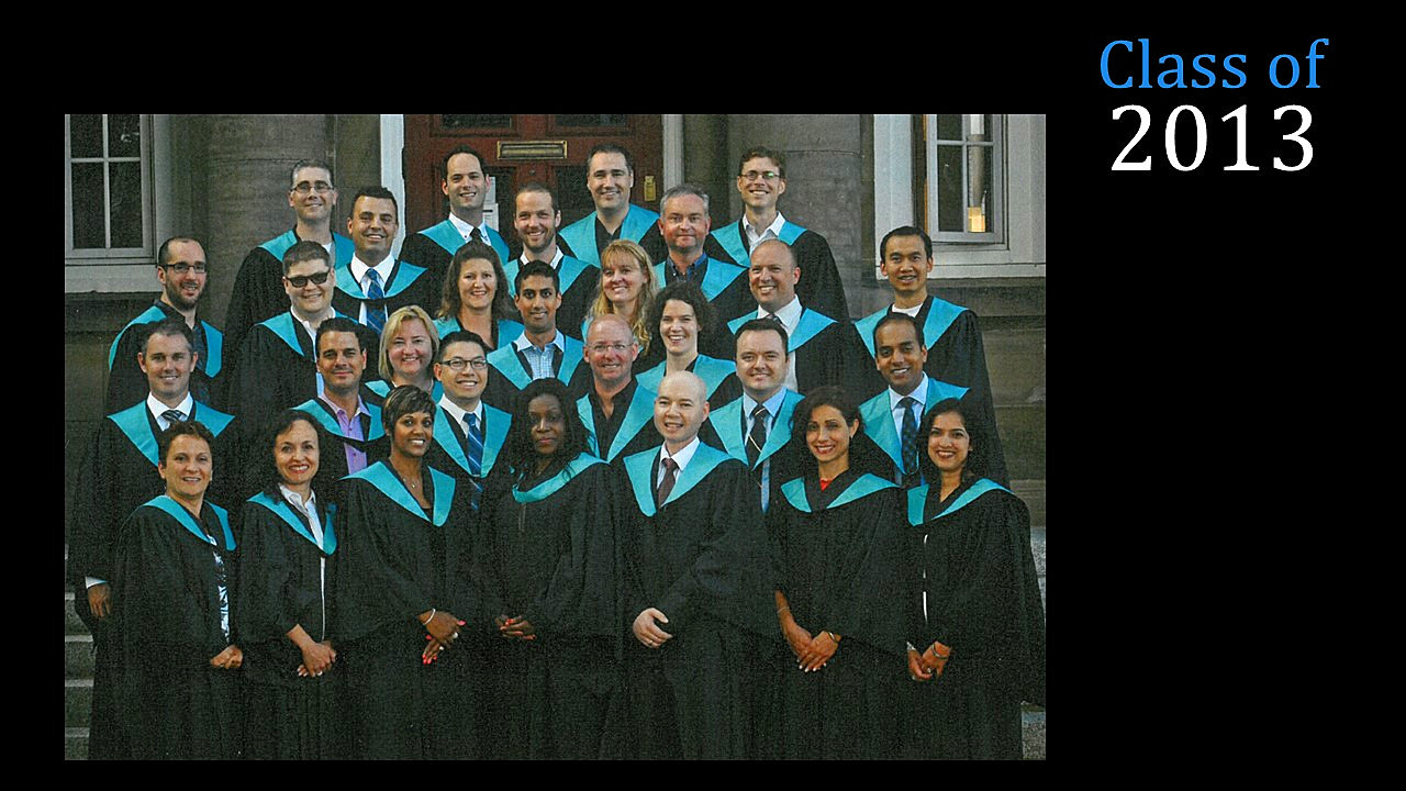 Class of 2013 MBA (FS)
