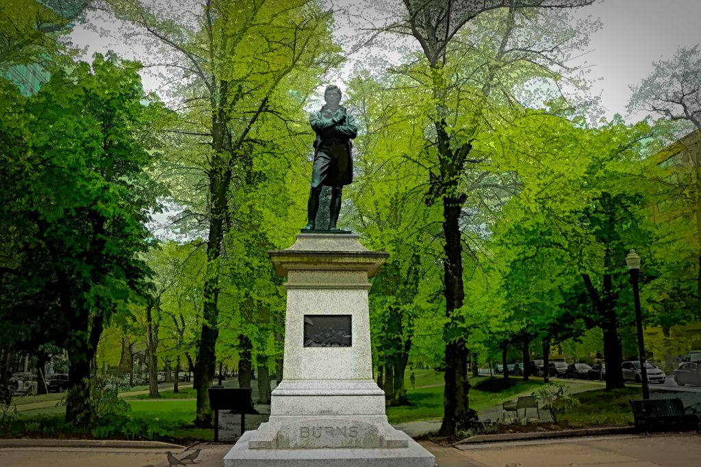 Robert Burns, Halifax, Nova Scotia