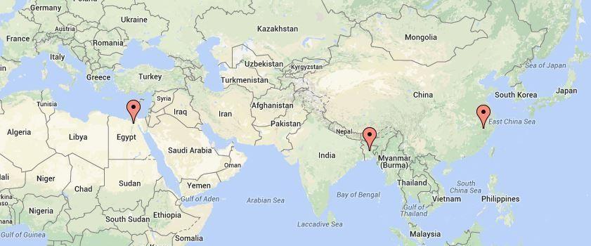 3 Countries Google Maps - Blog