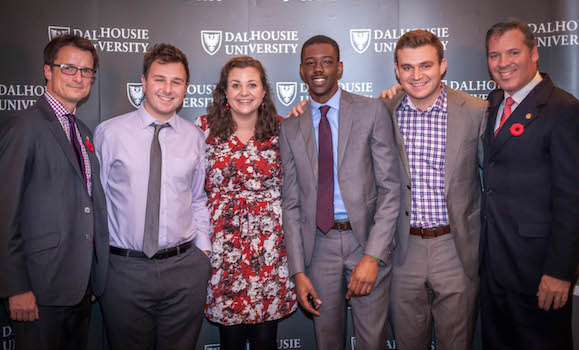 2016 MBA Case Competition Winning Team (Dalhousie)