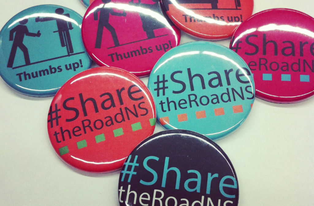 #sharetheroadNS buttons!