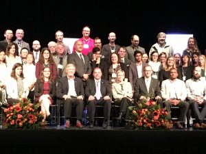 Annual Killam celebration award recipients, fellows, professors and chairs.