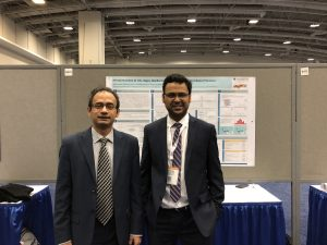 Dr. Ahsan Habib with Post-doc Associate Mahmudur Fatmi at the TRB Conference on the 9th of January, 2018