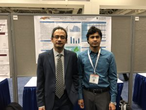 Dr. Ahsan Habib with Post-doc Associate Jahedul Alam at the TRB Conference on the 9th of January, 2018
