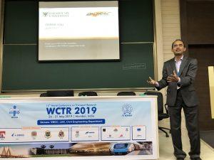 Dr. Habib presenting at WCTR