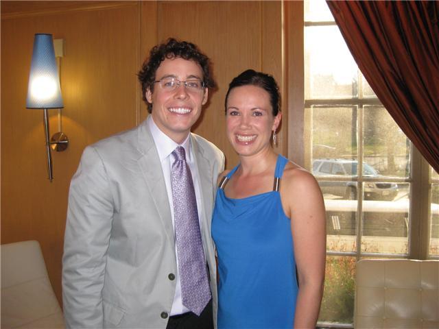 Reece Bearnes and Christel Mueller