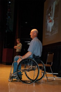 Judy Lugar and Paul Tingley