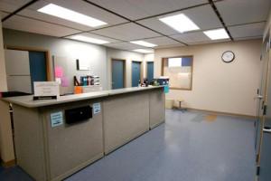 SHCD Reception Area