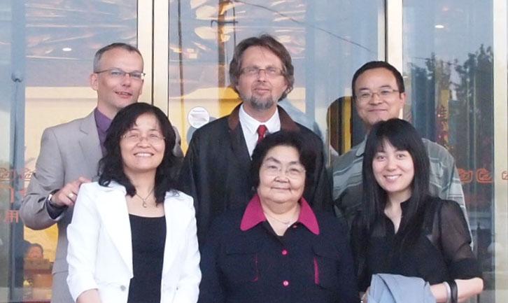David Gardner, Stan Kutcher, Guo (Translator), Liu Jing, Wang Yufeng and Yifeng Wei