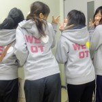 OT Students at the Hiroshima Prefecture University