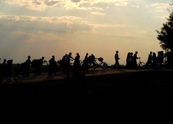 TZ bike silhouette