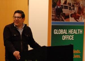 Dr. Ivar Mendez speaking about Dr. Ross' many successes