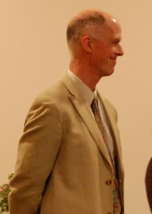 Dr. John Ross, recipient of the Dr. Savage Memorial Award for Faculty Leadership in Global Health