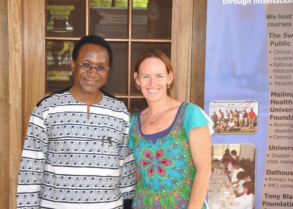 Dr. Pemba and Shawna O'Hearn, Ifakara Tanzania 2013