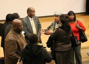 Dr Williams Speaks to Community Members Feb 10