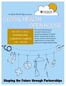 Global Health Open House Oct 3, 2015
