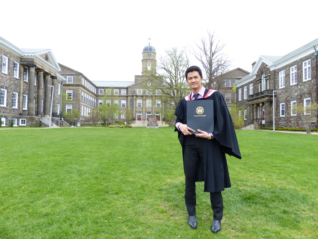Dr. Randy Aung, second year MSc. Community Health & Epidemiology student at Dalhousie University.