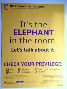 2016 Elephant in the Room campaign poster