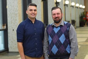 Brent Young, Dal Med Class 2019 & Joe MacEachern, Global Health Office