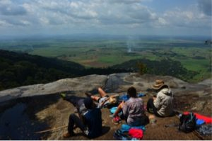 The incredible view at Udzungwa National Park
