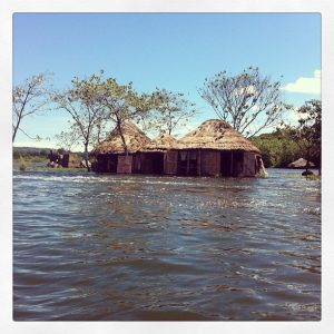 The Island is a Little Flooded Photographer: Justine Dol Location: Jinja, Uganda, April 2013