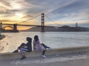 tiffany and rania in SF