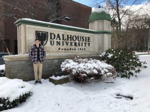 Brandon Parsons on Dalhousie University Halifax campus