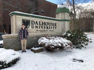 Brandon Parsons on Dalhousie University Halifax campus