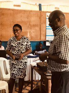 Scholastic Ashaba and Francis Oriokot, Uganda 2019